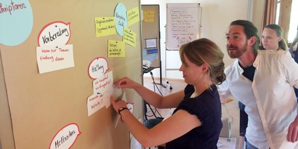 Die Workshopwoche bietet Zeit und Raum für kollegialen Austausch und Planung gemeinsamer Vorhaben. Foto: © EAT