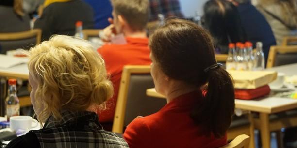 Rund 70 Teilnehmende waren im Zinzendorfhaus zur 5. Thüringer Arbeitszeitkonferenz zusammengekommen. Foto: © Désirée Reuther