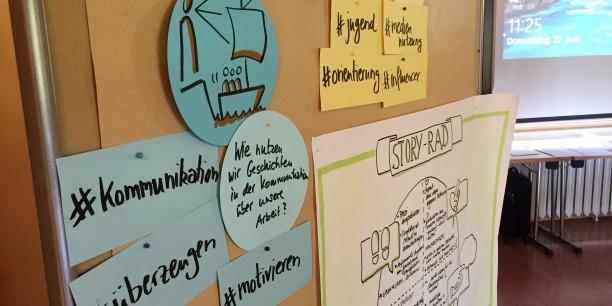 Wie lassen sich Geschichten erzählen und nutzen? Inhaltlich drehte es sich dieses Mal um das Thema Storytelling. Foto: © EAT