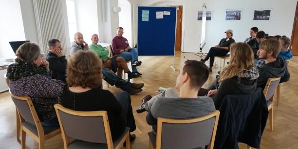 Die Sessions waren sehr vielseitig: Die Formate reichten von Impulsen über Methodendiskussionen bis zu Gesprächskreisen. Foto: © EAT