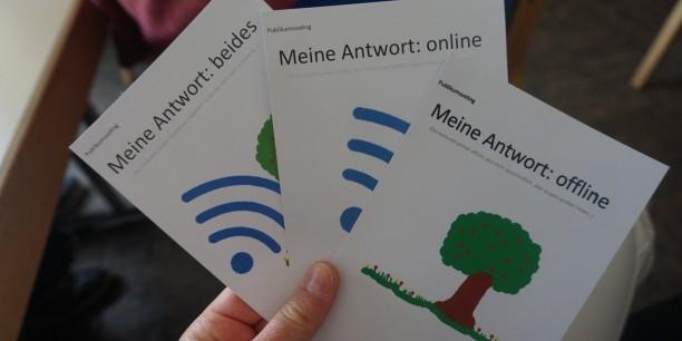 Online? Offline? - Beides! Foto:©Carina Rüllich/EAT
