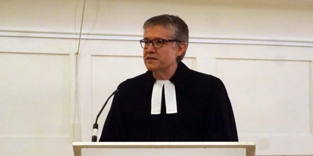 Pfarrer Dr. Sebastian Kranich wurde für seine Predigt gewürdigt. Foto: © EAT