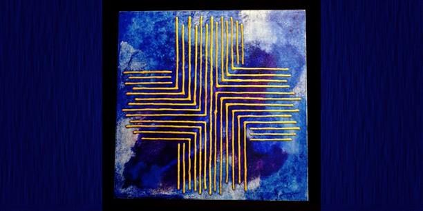 Kreuz 242 (50x50) © Andrea Terstappen