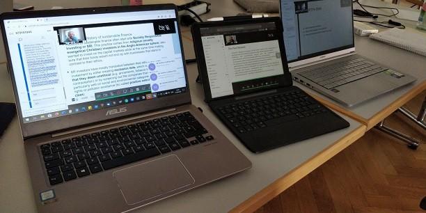Der technische Aufwand für eine Online-Veranstaltung ist ungleich größer: Ein Blick hinter die Kulissen. Foto: (c) Jorim Gerrard/EAT.