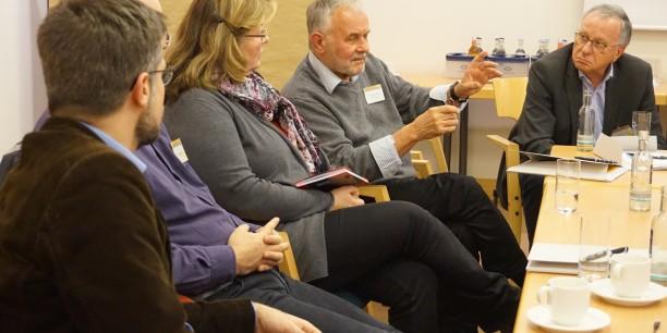"""In den Workshops am Samstag Nachmittag im Steigenberger Hotel """"Thüringer Hof"""" konnten die Teilnehmenden die in den Vorträgen aufgeworfenen Fragen intensiver diskutieren. Foto © EAT"""
