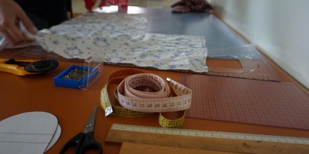 Im Näh-Workshop konnte Kleidung repariert oder Lavendel-Säckchen selbst gemacht werden. Foto: © Wuttke/EAT