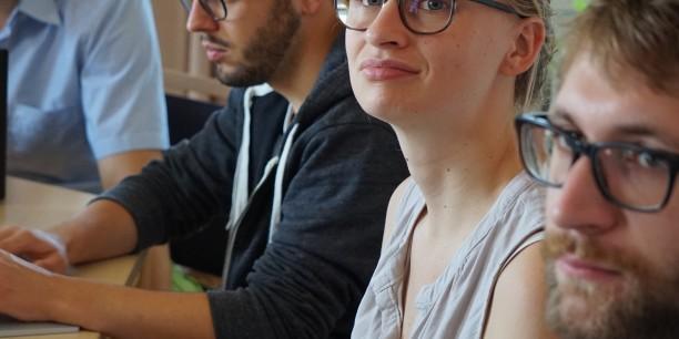 In neun Workshops arbeiten die 90 internationalen Teilnehmenden konzentriert an Themen wie Komplexitätsökonomik, Philosophie der Ökonomie oder sozialer Ungleichheit. ©Janina Urban