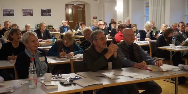 Die Tagung erhielt schon im Vorfeld große Aufmerksamkeit und war mit über 50 Teilnehmenden ausgebucht. Foto: ©EAT