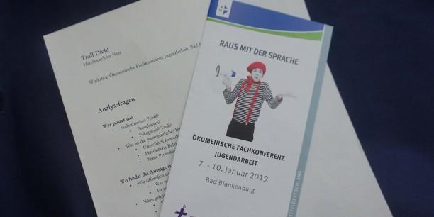 Einen von vielen spannenden Workshops zum Thema Sprache bei der Fachkonferenz Jugendarbeit 2019 gestaltete Dr. Annika Schreiter. Foto: © EAT