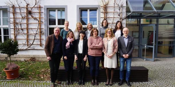 Die Teilnehmenden der Jahrestagung Öffentlichkeitsarbeit der EAD. Foto: © Waiblinger/Ev. Akademie Bad Boll