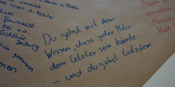 Eindrücke von den Tischen des World Café. Foto: © EAT