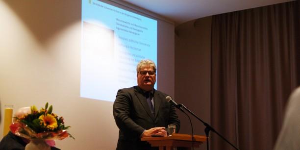 """Akademiedirektor Prof. Dr. Michael Haspel sprach auf der Tagung """"Eine freie Kirche in einer freien Gesellschaft"""" in Berlin über """"Die zivilgesellschaftliche Rolle der Schwarzen Kirchen in der Bürgerrechtsbewegung"""". Foto: ©Reinhard Assmann"""