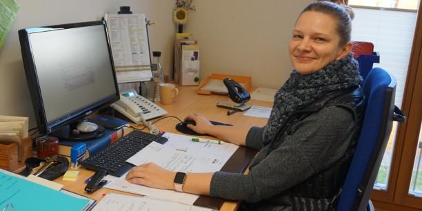 Neu im Team: Stina Kämmerer ist seit November 2019 zuständig für Personal und Finanzen. Foto: © EAT