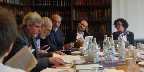 Die erste Konsultation zum friedensethischen Grundlagenprojekt fand in der Forschungsstätte der Evangelischen Studiengemeinschaft in Heidelberg statt. Foto: (c) Julian Zeyher