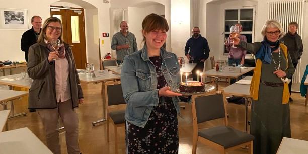 Am Abend des 3. Oktober hieß es: Prost und Happy Birthday, Deutsche Einheit! Foto: © Susanne Niemeyer