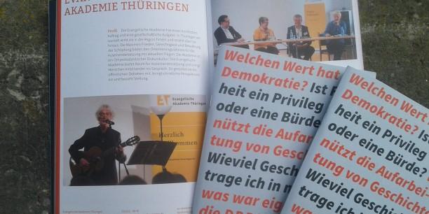 Die neue Broschüre des Geschichtsverbunds Thüringen ist da! Foto: © Kranich/EAT