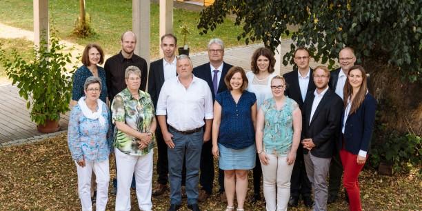 Das Team der Evangelischen Akademie Thüringen 2016.