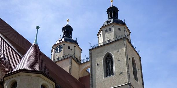 Der Handwerker-Gottesdienst findet in der Stadt- und Pfarrkirche St. Marien statt, der Predigtkirche Martin Luthers.