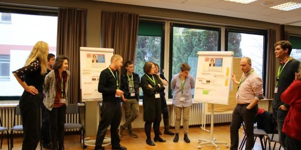 Workshop des Projekts NetzTeufel zu Kulturtechniken der digitalen Kommunikation. Foto: © EAT