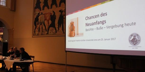 Der Studientag wurde veranstaltet von der Theologischen Fakultät der Friedrich-Schiller-Universität Jena. Foto: © Thomas Heller