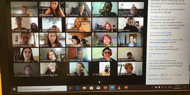Das Interesse war groß: 140 junge Leute aus 40 Ländern haben an der Online-Sommerakademie für Plurale Ökonomik vom 10.-16. August 2020 teilgenommen. Foto: (c) Holger Lemme/EAT.