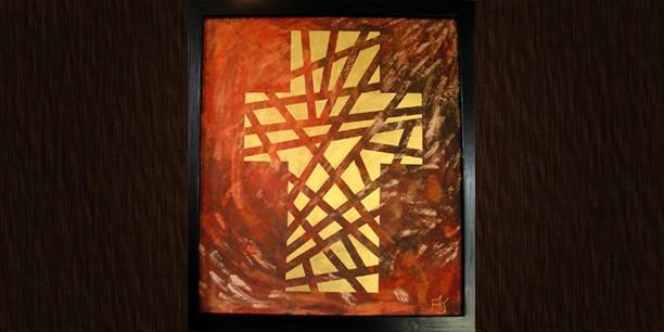 Kreuz 98 (66x74) © Andrea Terstappen