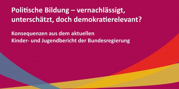 Interessante Beiträge zum aktuellen Kinder- und Jugendbericht gab es bei der Online-Veranstaltung am 24. Februar. © Grooten/EAT