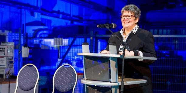 Landesbischöfin Ilse Junkermann betonte, dass die Menschen niemals Mittel sein dürften, sondern immer Zweck unternehmerischer Tätigkeit seien. Foto: © IFA-Gruppe