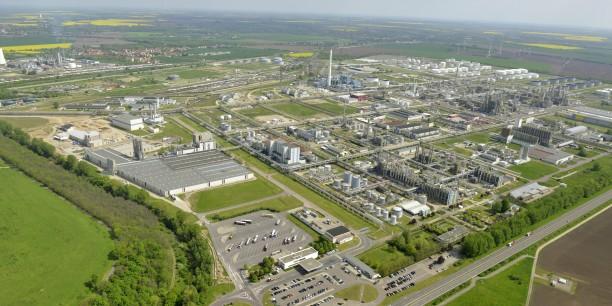 Chemiestandort Leuna bei Halle (Saale). Foto: ©Horst Fechner