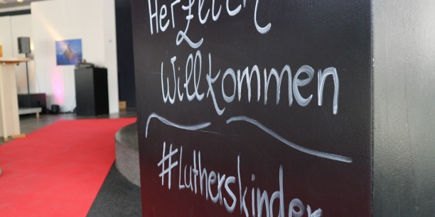 "Die Gesprächsrunde im Rahmen des Projekts ""Luthers Kinder"" fand am 06. April im Eisenacher KUNSTPavillon statt. Foto: ©Désirée Frahnow"