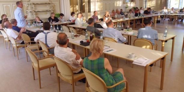 Knapp 50 Delegierte aus ganz Deutschland trafen sich bei der KDA_Bundeskonferenz in Rothenburg ob der Tauber. Foto: (c) Holger Lemme