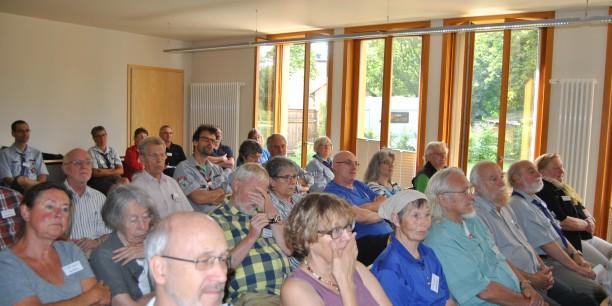 Viele christliche Pfadfinder waren nach Neudietendorf gekommen, um mehr über die Impulse der Reformation zu erfahren. Foto: (c) Jürgen Pfau