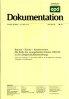 "epd Dokumentation ""Kerzen– Kirche– Kontroversen"""