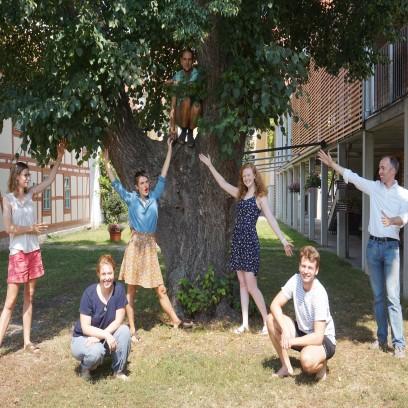Das Organisationsteam der Sommerakademie für Plurale Ökonomik. Foto: © EAT