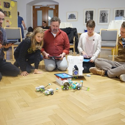 Praktischer Workshop bei der Star Wars-Tagung. Foto: © EAT