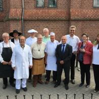 Handwerkerinnen und Handwerker aus den verschiedensten Gewerken und unterschiedlichen Konfessionen feierten in Wittenberg gemeinsam Gottesdienst.